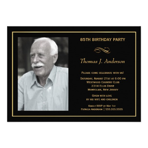 Best ideas about 85th Birthday Invitations . Save or Pin 700 85th Birthday Invitations 85th Birthday Now.