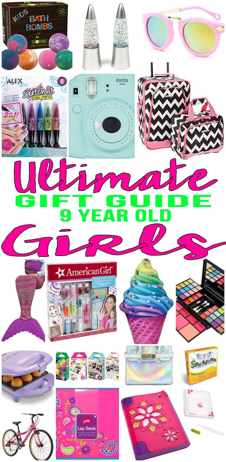 Best ideas about 9 Year Old Birthday Girl Gift Ideas . Save or Pin Best Gifts 9 Year Old Girls Will Love Now.