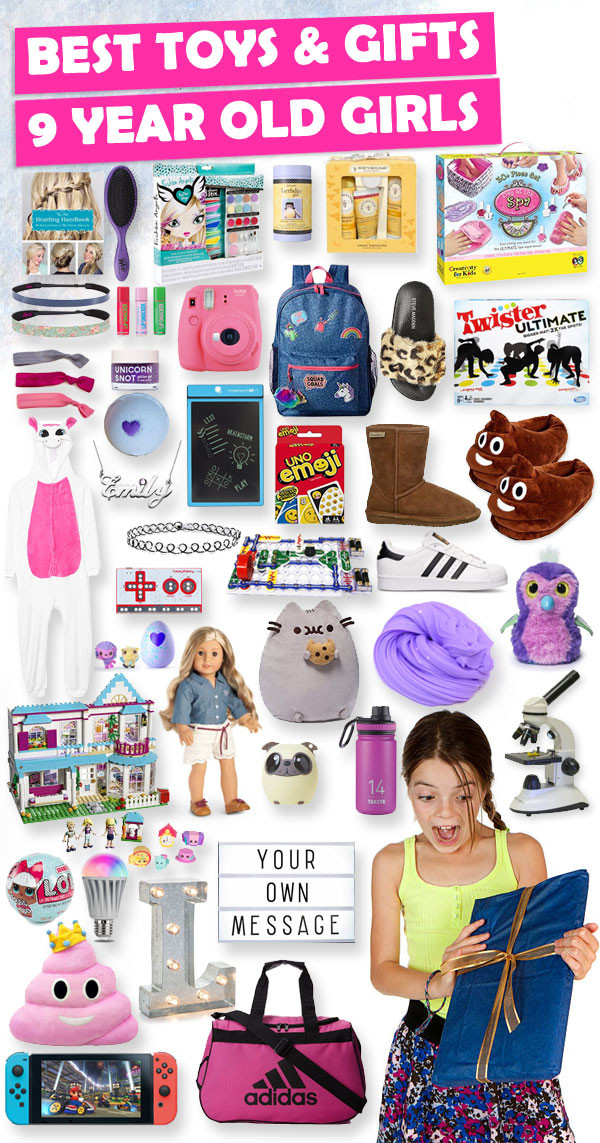 Best ideas about 9 Year Old Birthday Girl Gift Ideas . Save or Pin Best Toys and Gifts For 9 Year Old Girls 2018 Now.