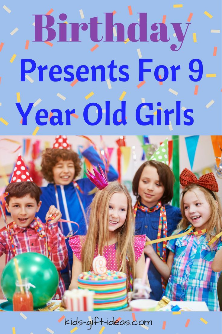 Best ideas about 9 Year Old Birthday Girl Gift Ideas . Save or Pin 445 best Gifts by Age Group ♥♥ Christmas and Birthday Now.
