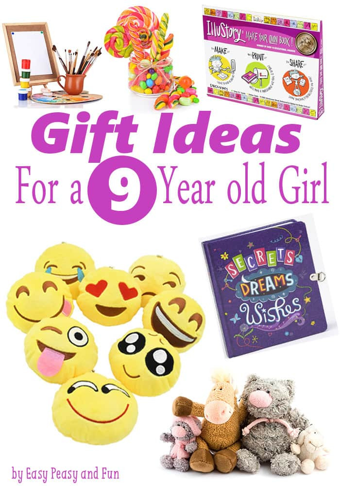 Best ideas about 9 Year Old Birthday Girl Gift Ideas . Save or Pin Gifts for 9 Year Old Girls Easy Peasy and Fun Now.