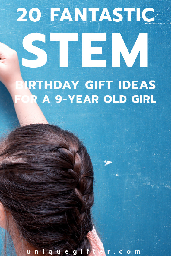 Best ideas about 9 Year Old Birthday Girl Gift Ideas . Save or Pin 20 STEM Birthday Gifts for a 9 Year Old Girl Unique Gifter Now.