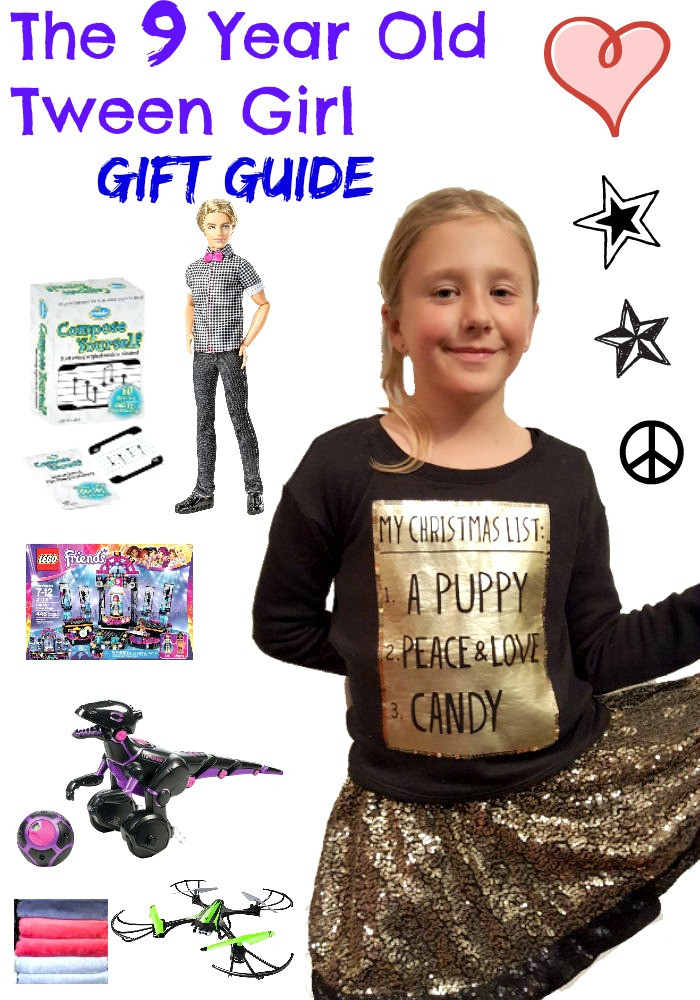 Best ideas about 9 Year Old Birthday Girl Gift Ideas . Save or Pin Gifts Your 9 Year Old Tween Girl Will Love I love My Now.