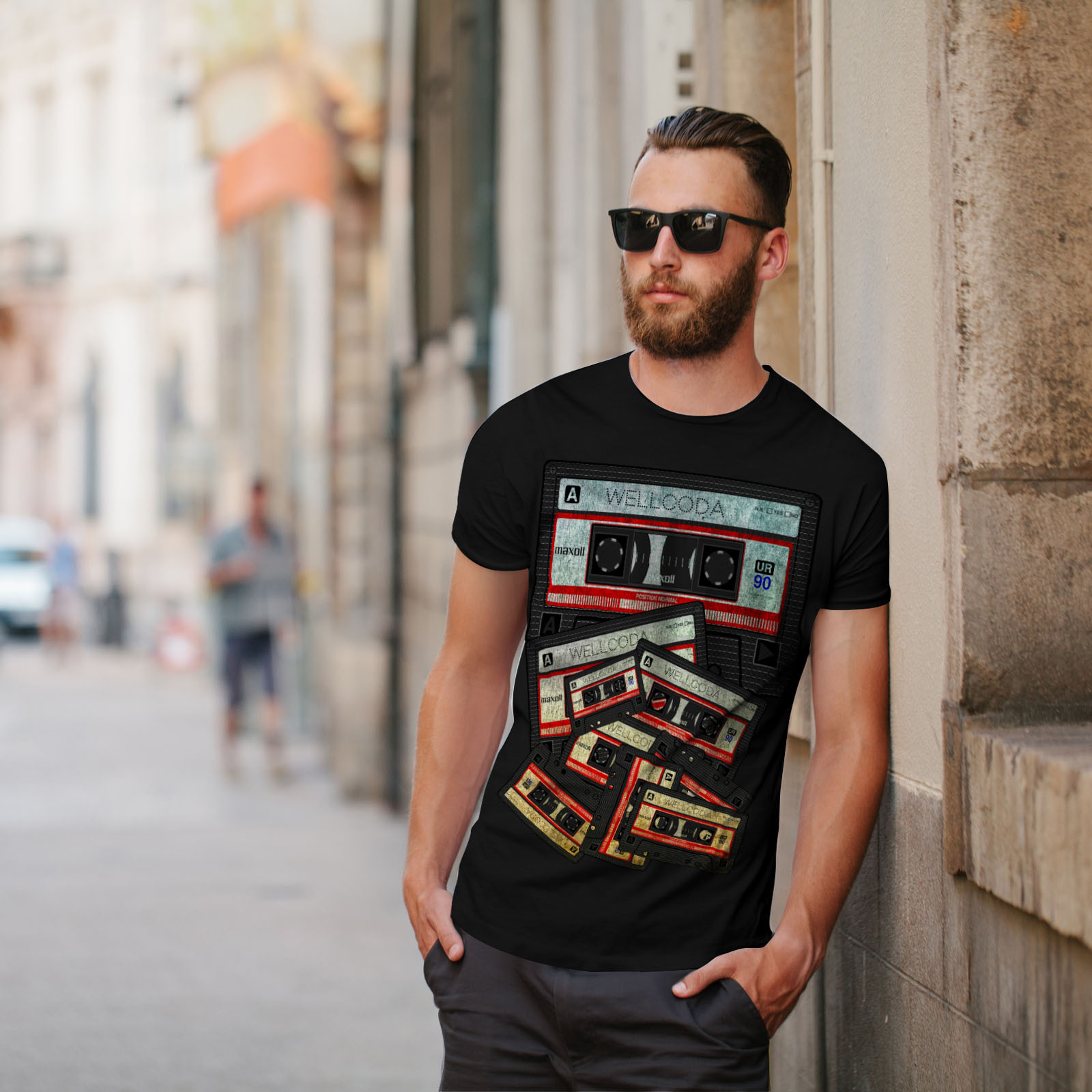 Best ideas about 90'S Mens Hairstyles . Save or Pin Wellcoda Music Cassette Tape Mens T shirt 90 s Graphic Now.