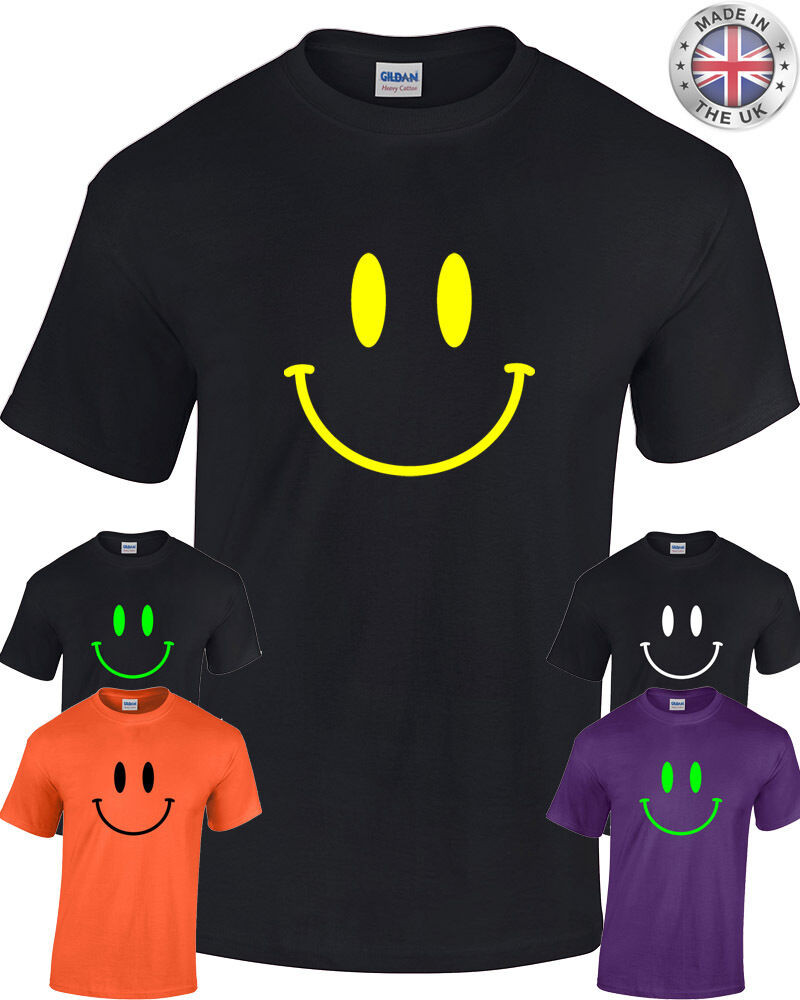 Best ideas about 90'S Mens Hairstyles . Save or Pin SMILEY FACE T Shirt Mens Womens Acid 90 s retro rave Now.