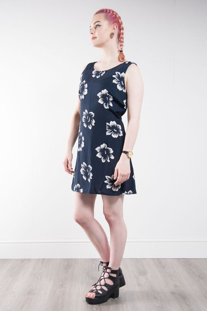 Best ideas about 90'S Short Hairstyles . Save or Pin WOMENS VINTAGE 90 S FLORAL PATTERN MINI DRESS HAWAIIAN Now.