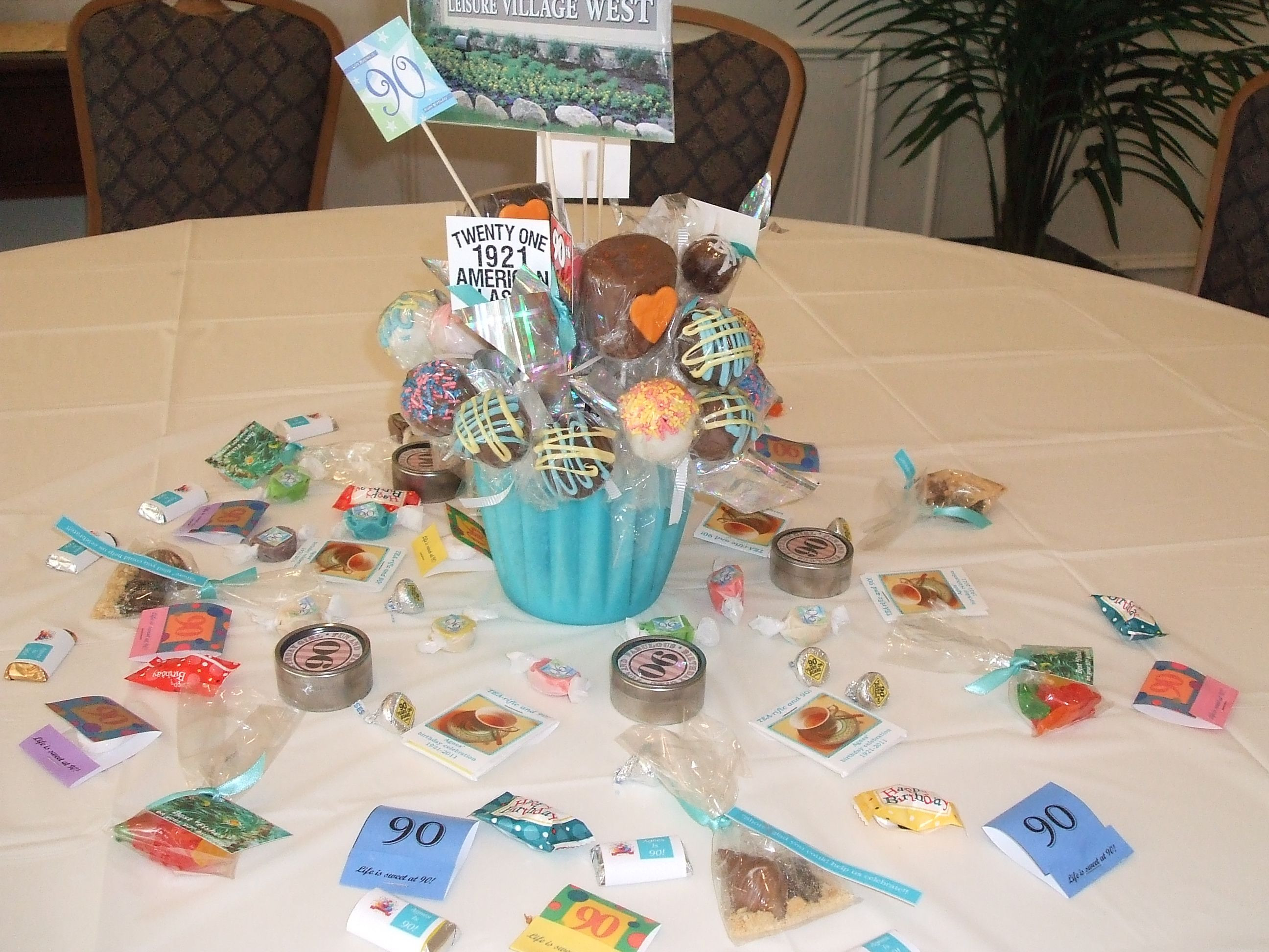 Best ideas about 90th Birthday Decorations . Save or Pin Mom s 90th birthday party Let s party Now.