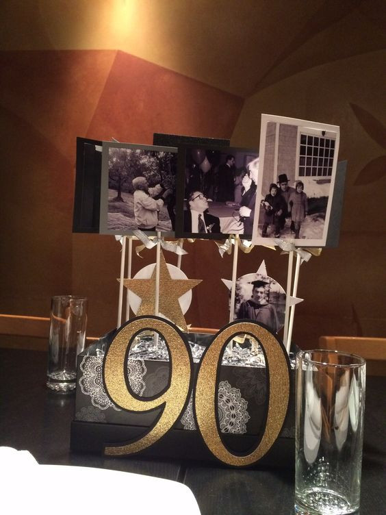 Best ideas about 90th Birthday Party Ideas Decorations . Save or Pin 1000 ideas about 90th Birthday Decorations on Pinterest Now.