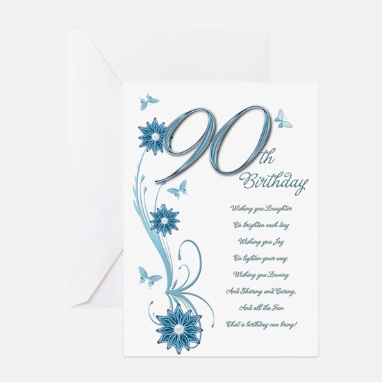 Best ideas about 90th Birthday Wishes . Save or Pin 90Th Birthday 90th Birthday Greeting Cards Now.