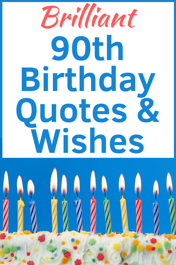 Best ideas about 90th Birthday Wishes . Save or Pin 90th Birthday Wishes 90th Birthday Ideas Now.