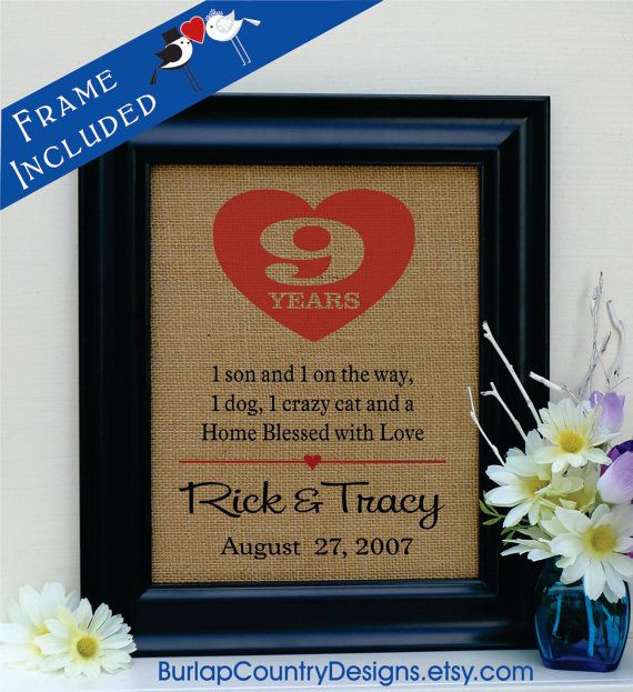 Best ideas about 9Th Wedding Anniversary Gift Ideas . Save or Pin Best 20 9th Wedding Anniversary ideas on Pinterest Now.