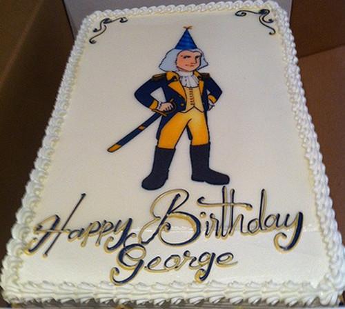 Best ideas about A Birthday Cake For George Washington . Save or Pin President Washington birthday cake Now.