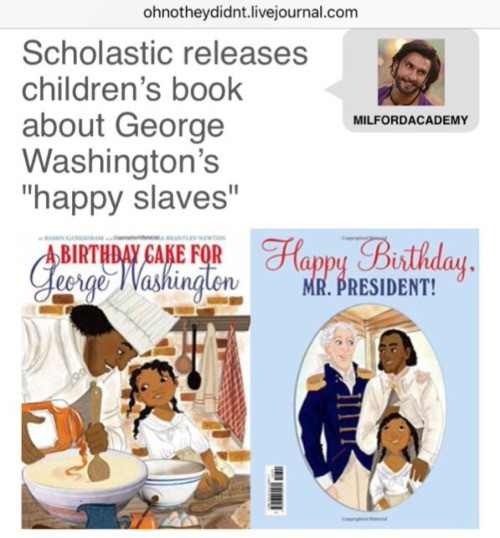 Best ideas about A Birthday Cake For George Washington . Save or Pin mine Racism srs slave slavery george washington scholastic Now.