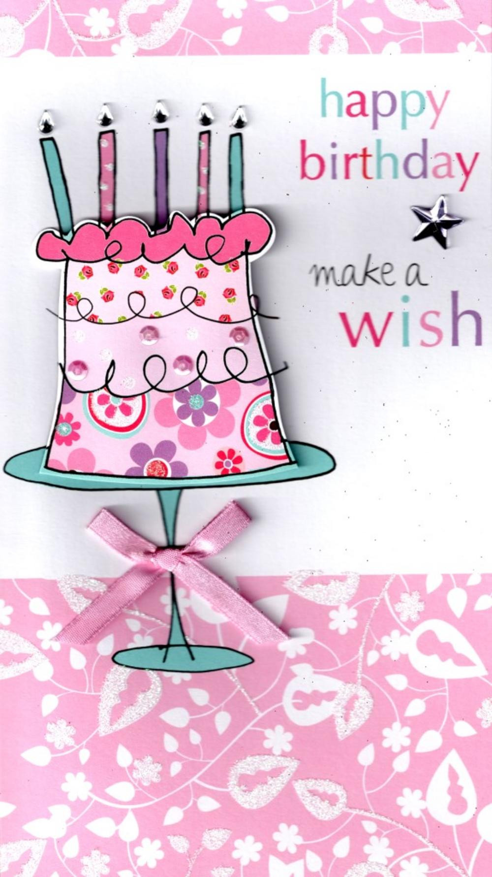 Best ideas about A Birthday Wish . Save or Pin Make A Wish Happy Birthday Greeting Card Now.