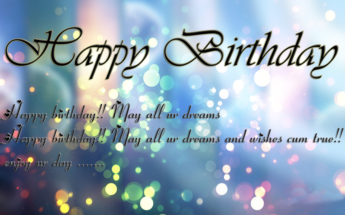 Best ideas about A Birthday Wish . Save or Pin Happy Birthday Wishes Messages and Status – Thoes Short Now.