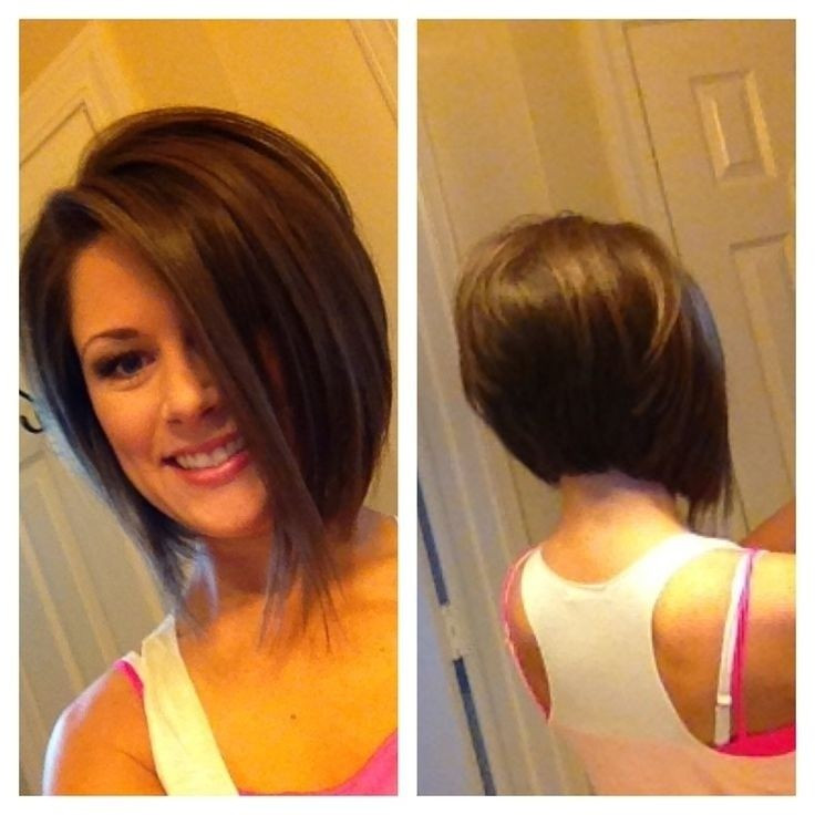 Best ideas about A Bob Hairstyle . Save or Pin 30 Super Hot Stacked Bob Haircuts Short Hairstyles for Now.