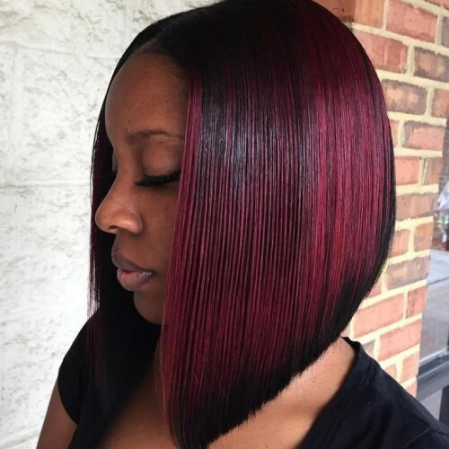 Best ideas about A Line Bob Hairstyles . Save or Pin 50 Sensational Bob Hairstyles for Black Women Now.
