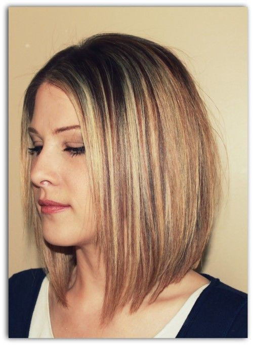 Best ideas about A Line Bob Hairstyles . Save or Pin I really like how this A line isn t over exaggerated Now.
