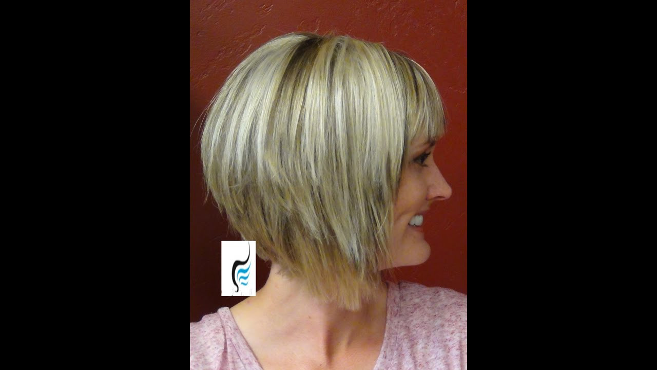 Best ideas about A Line Bob Hairstyles . Save or Pin A Line Cut With Blunt Bangs Hair Hairstyle Now.
