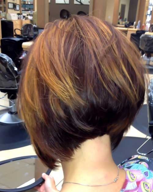 Best ideas about A Line Bob Hairstyles . Save or Pin 35 Short Stacked Bob Hairstyles Now.