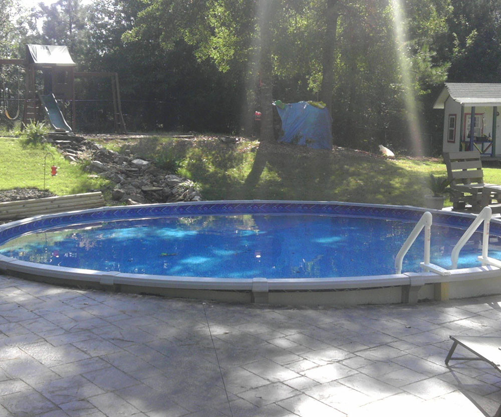 Best ideas about Above Ground Pool Installation . Save or Pin ground pool installation DIY Now.