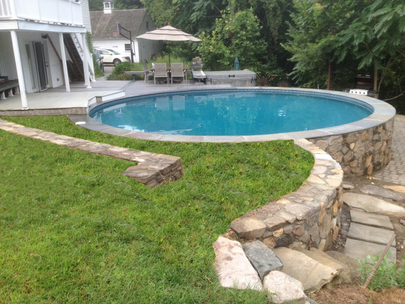 Best ideas about Above Ground Pool Installation . Save or Pin of Ground Swimming Pools Now.