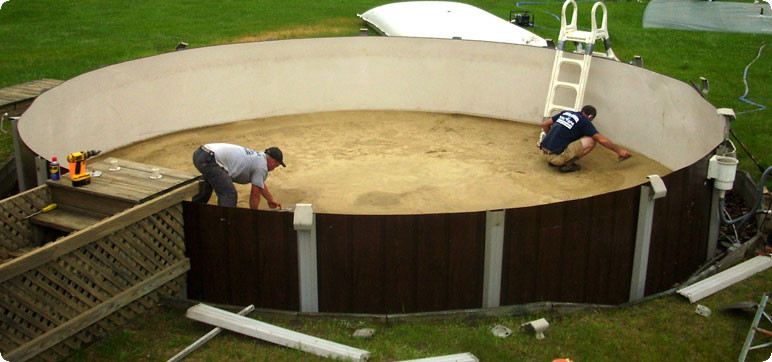 Best ideas about Above Ground Pool Installation . Save or Pin How to Handle Ground Pools Installation Now.