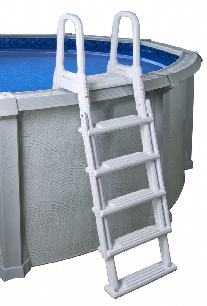 Best ideas about Above Ground Pool Ladders . Save or Pin A Frame Flip Up Ladder for Ground Swimming Pool Now.