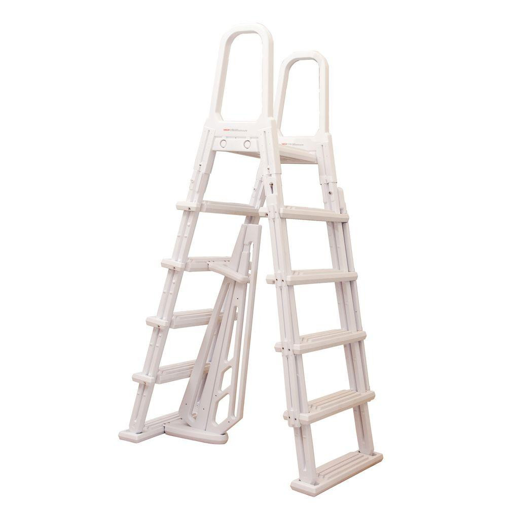 Best ideas about Above Ground Pool Ladders . Save or Pin Heritage Calypso A Frame Ladder for Ground Pools 48 Now.