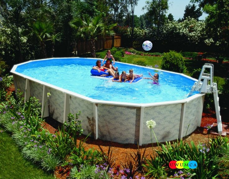 Best ideas about Above Ground Pool Pad Ideas . Save or Pin 1000 ideas about Ground Pool Ladders on Pinterest Now.