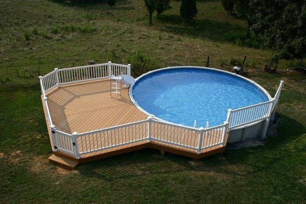 Best ideas about Above Ground Pool Pad Ideas . Save or Pin Best 25 ground pool slide ideas on Pinterest Now.