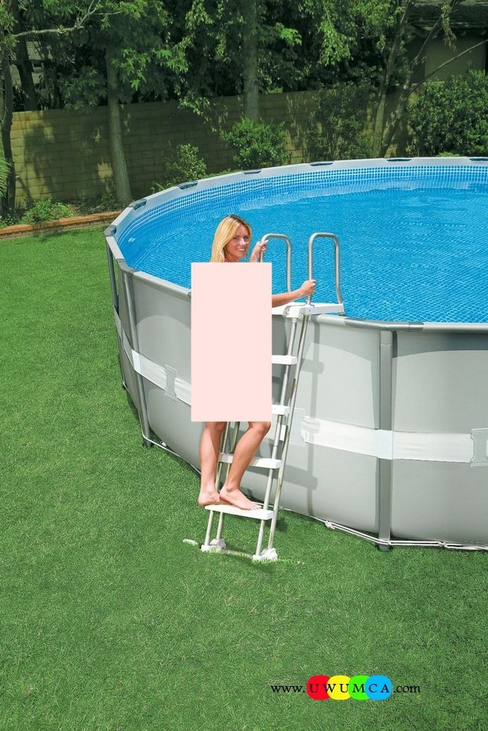 Best ideas about Above Ground Pool Pad Ideas . Save or Pin Swimming Pool Swimming Pool Ladder Pads Ground Now.