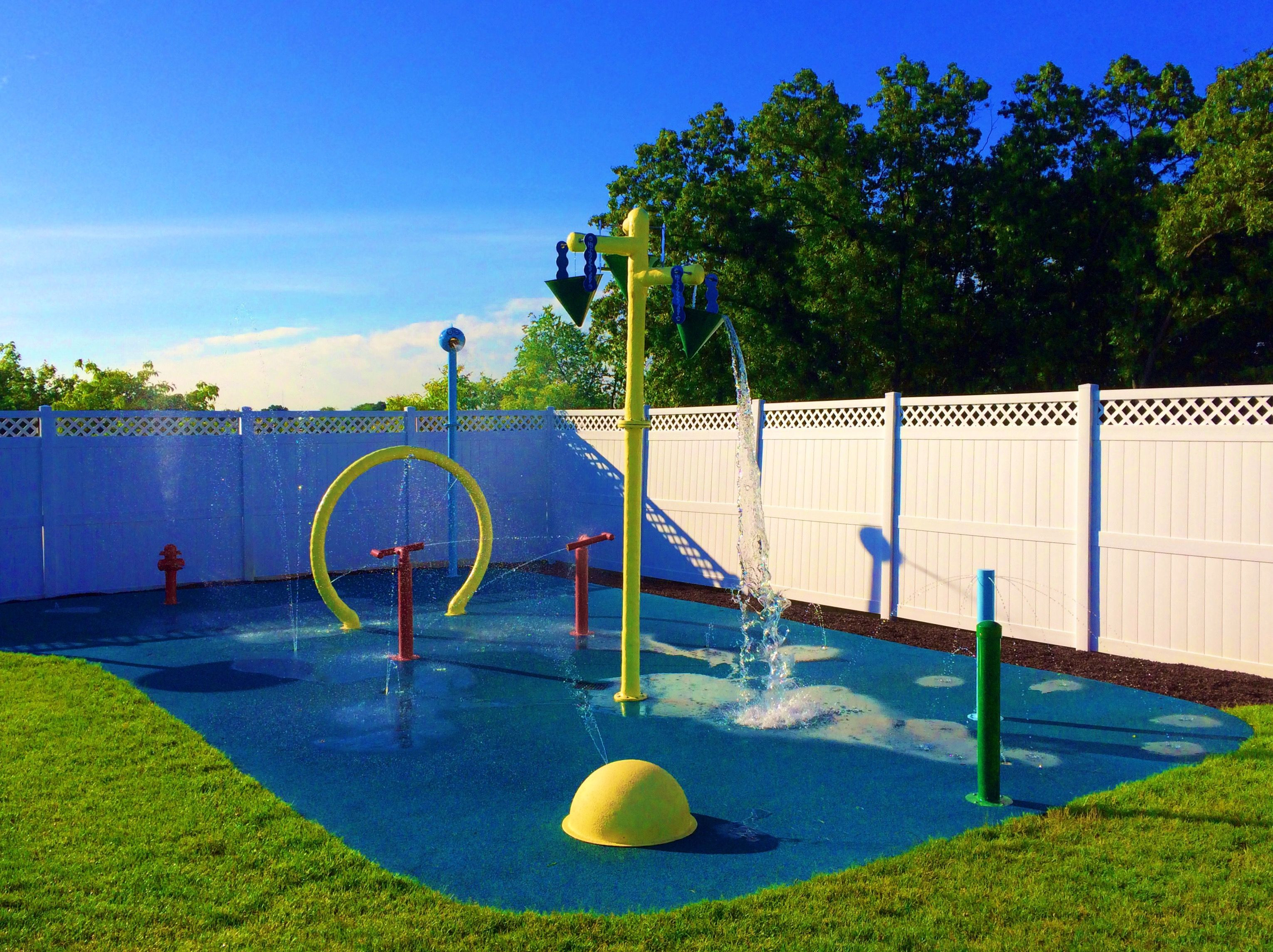 Best ideas about Above Ground Pool Pad Ideas . Save or Pin Splash Pad Installation Kits & Water Playground Equipment Now.