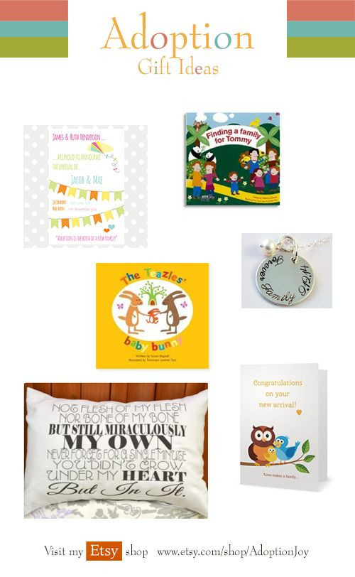 Best ideas about Adopt Gift Ideas . Save or Pin Lovely Adoption t ideas here Mainly from Etsy Now.