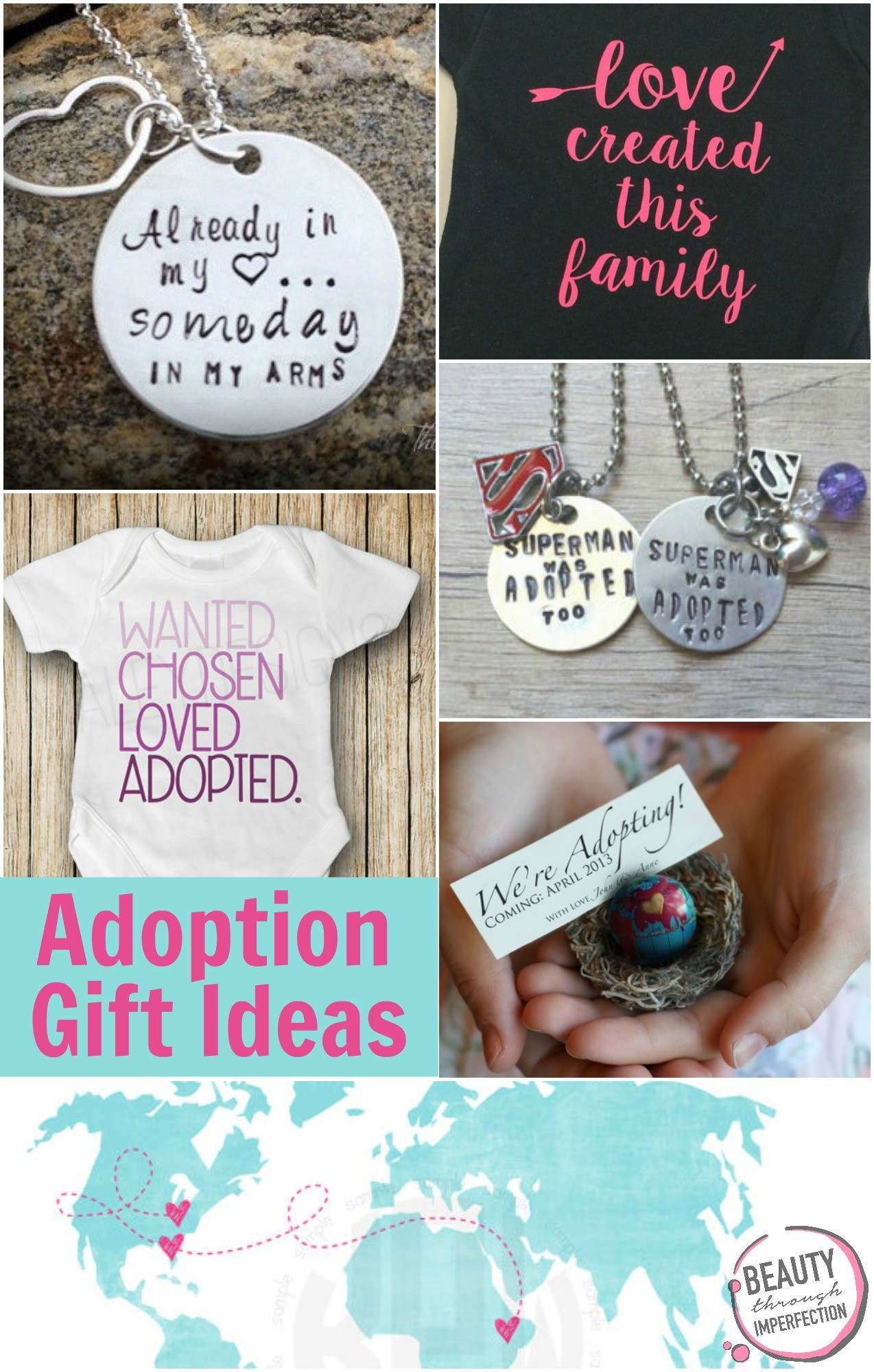 Best ideas about Adopt Gift Ideas . Save or Pin Beautiful Gift Ideas for Adoptive Parents Beauty Through Now.