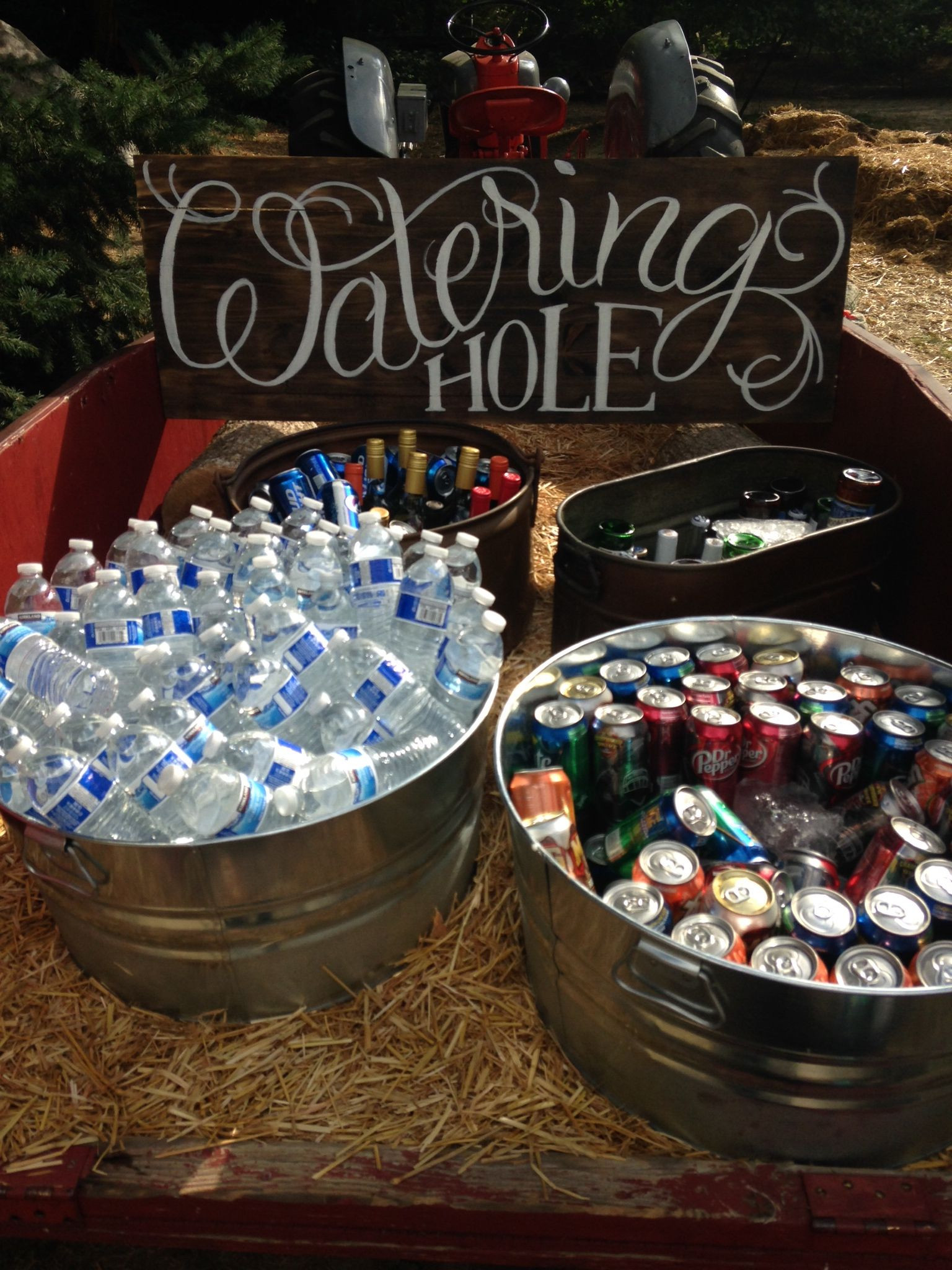 Best ideas about Adult Birthday Party Themes . Save or Pin Watering hole sign My husband made this sign for me Now.