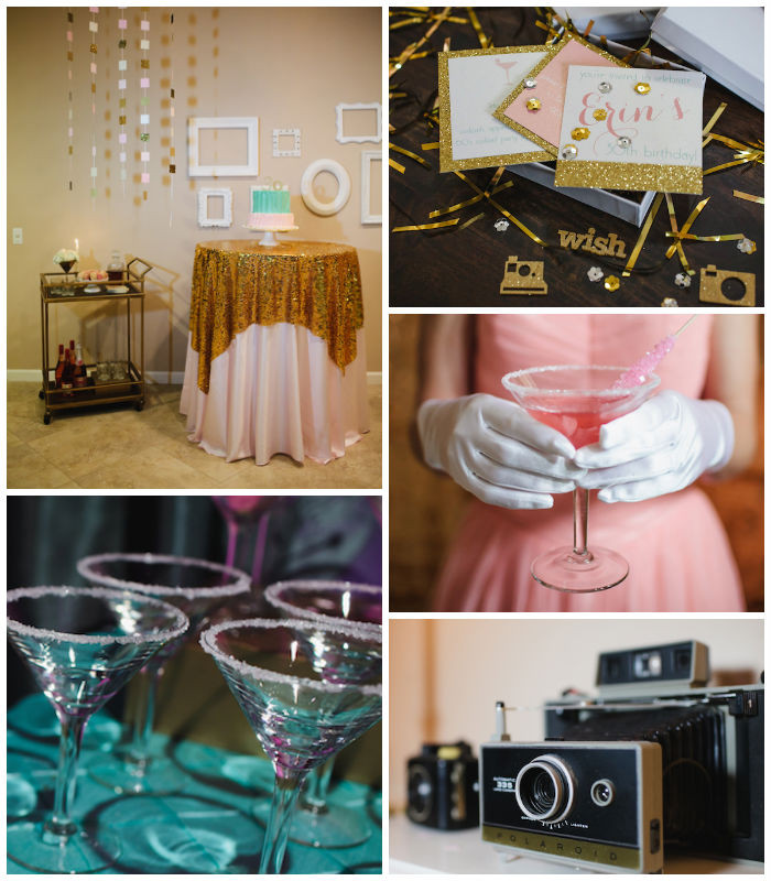 """Best ideas about Adult Birthday Party Themes . Save or Pin Kara s Party Ideas """"Mad Men"""" 60 s Style Adult Birthday Now."""