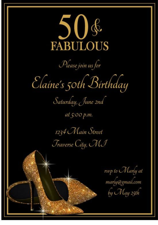 Best ideas about Adult Birthday Wishes . Save or Pin Adult Birthday Party Invitations Gold Glitter by Now.