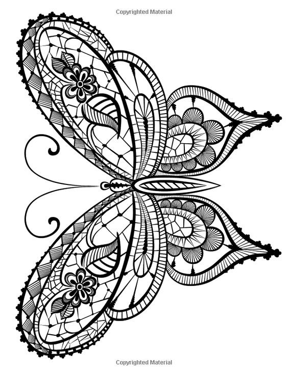 Best ideas about Adult Coloring Books Amazon . Save or Pin Adult Coloring Book Butterflies and Flowers Stress Now.