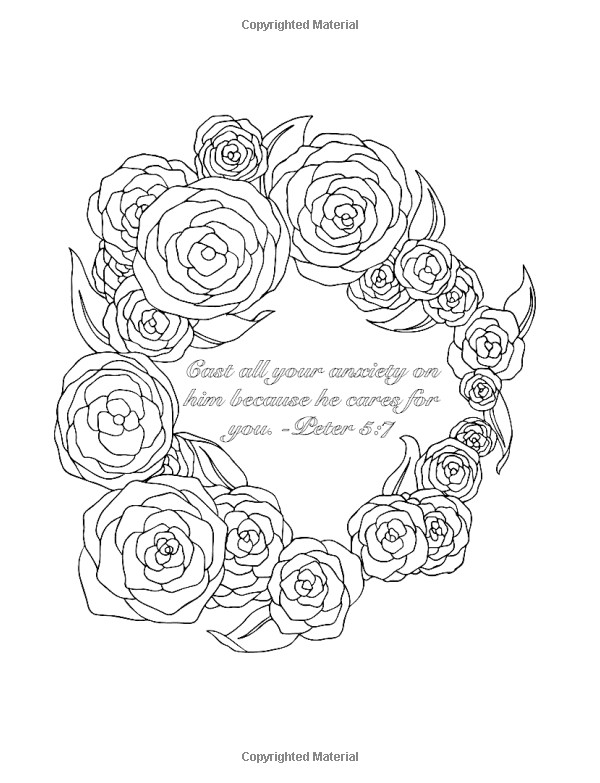 Best ideas about Adult Coloring Books Amazon . Save or Pin Amazon Scripture Coloring Book For Adults Now.