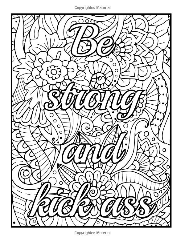 Best ideas about Adult Coloring Books Bad Words . Save or Pin Curse Word Coloring Pages at GetColorings Now.