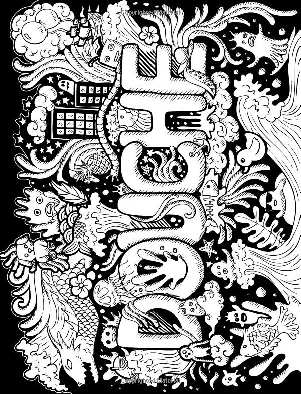 Best ideas about Adult Coloring Books Bad Words . Save or Pin 17 Best images about cuss word coloring sheet on Pinterest Now.