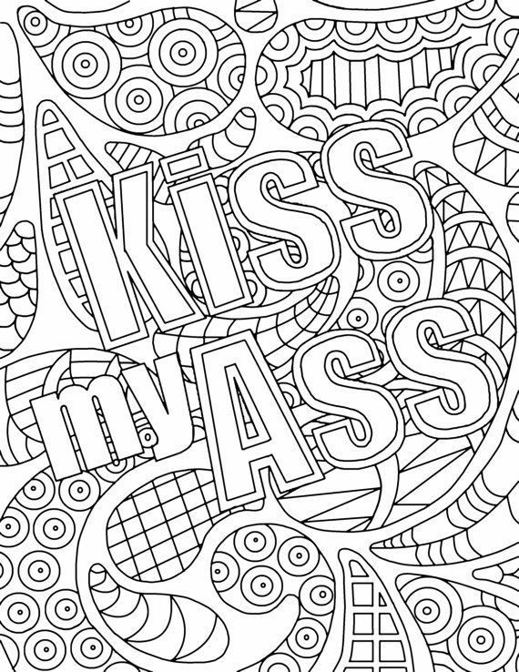 Best ideas about Adult Coloring Books Bad Words . Save or Pin free adult coloring pages swear words AOL Image Search Now.