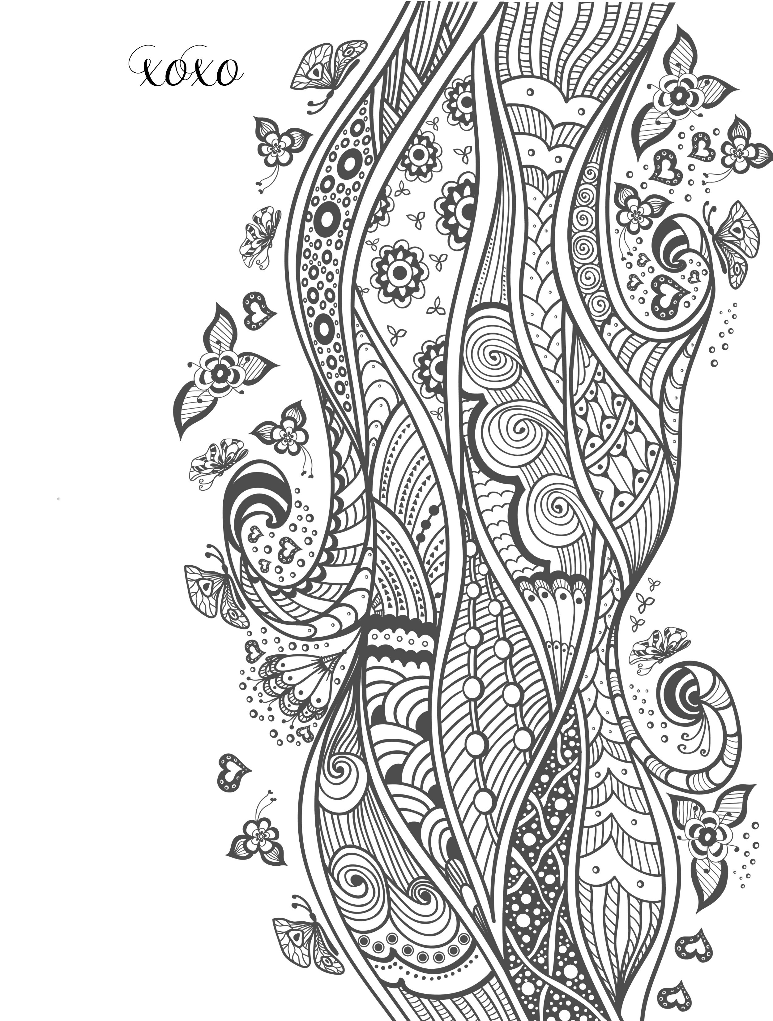 Best ideas about Adult Coloring Books Printable . Save or Pin 20 Free Printable Valentines Adult Coloring Pages Nerdy Now.