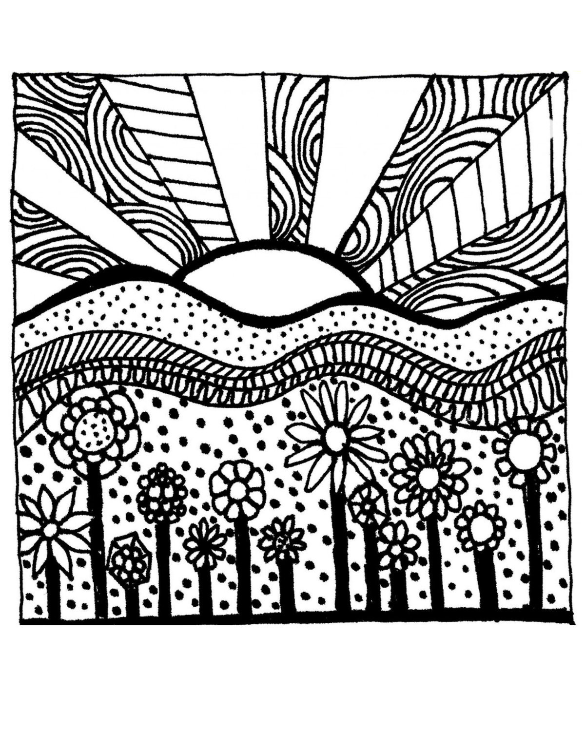 Best ideas about Adult Coloring Books Printable . Save or Pin free coloring pages for adults Now.