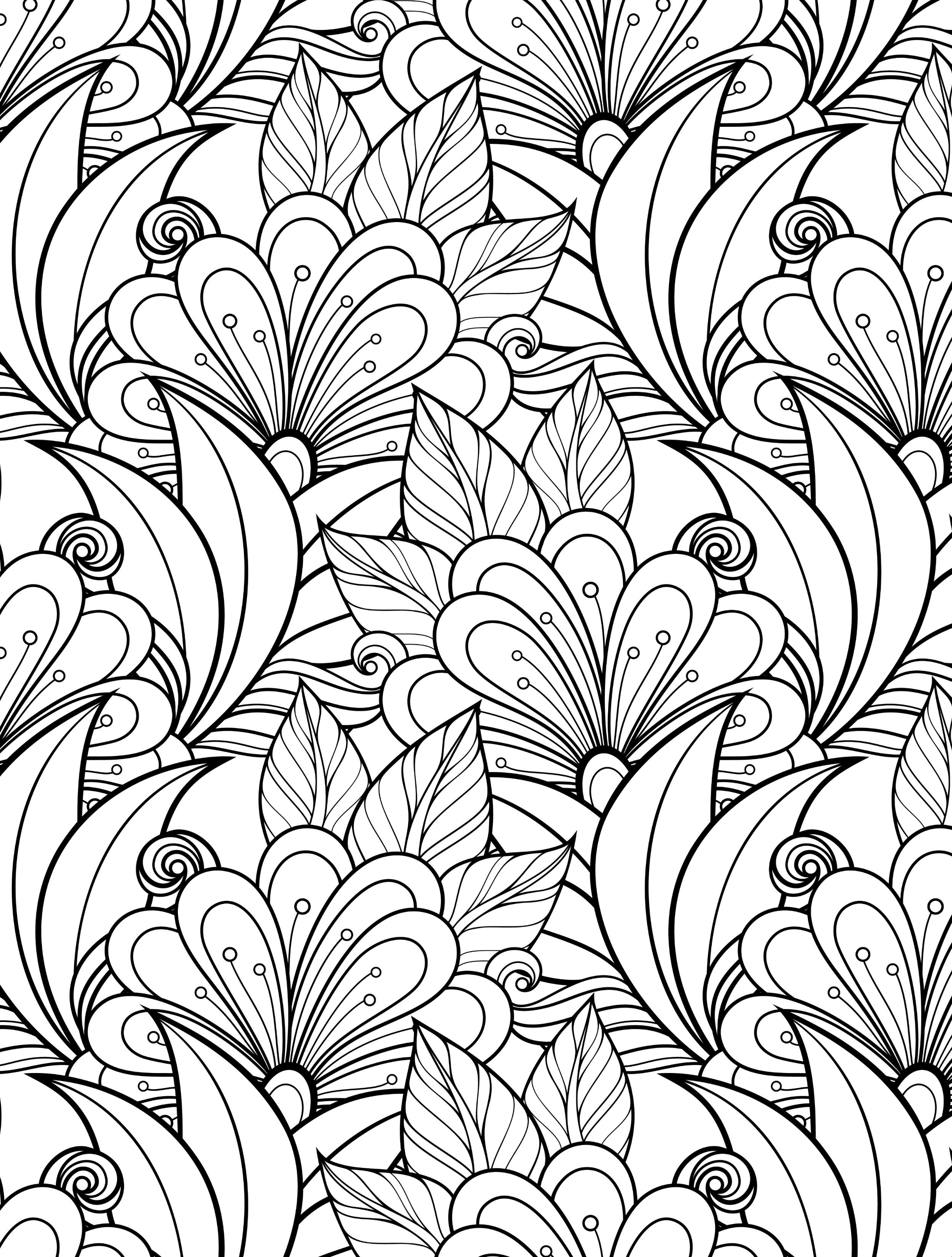 Best ideas about Adult Coloring Books Printable . Save or Pin 24 More Free Printable Adult Coloring Pages Page 7 of 25 Now.