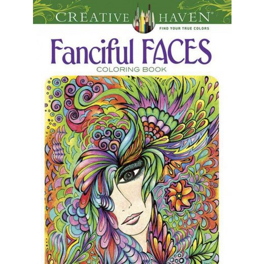 Best ideas about Adult Coloring Books Target . Save or Pin Creative Haven Fanciful Faces Adult Coloring Book Tar Now.