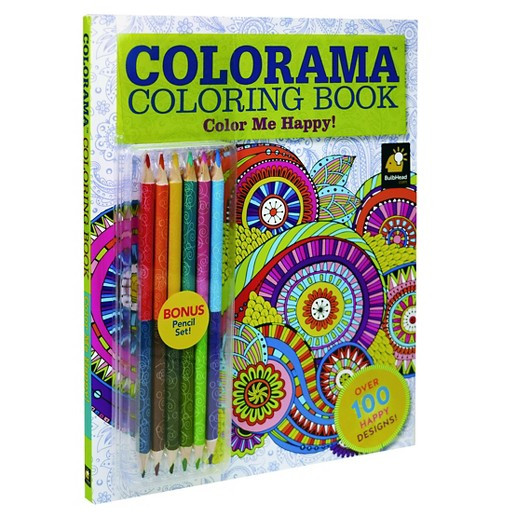 Best ideas about Adult Coloring Books Target . Save or Pin As Seen on TV Colorama 7 Piece Color Me Happy Adult Now.
