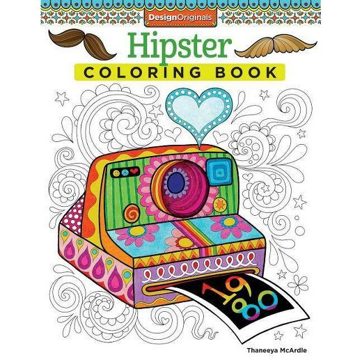 Best ideas about Adult Coloring Books Target . Save or Pin Hipster Adult Coloring Book Tar Now.