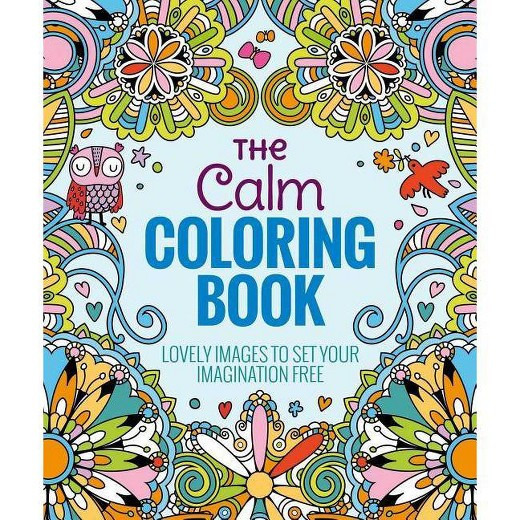 Best ideas about Adult Coloring Books Target . Save or Pin The Calm Adult Coloring Book Lovely to Set Your Now.